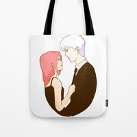 kakashi Tote Bags featuring Old Flame by xtcetera
