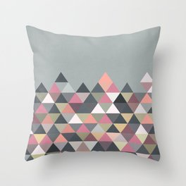Nordic Combination 13 Throw Pillow