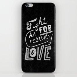 Art Creativity Love iPhone Skin