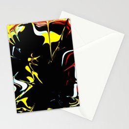 Walking In Space Stationery Cards