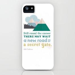 Round the corner iPhone Case
