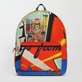 Greetings From New York City Backpack