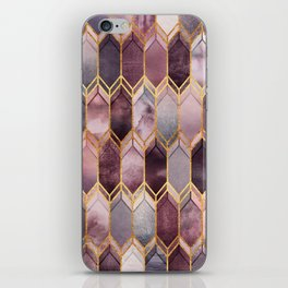 Dreamy Stained Glass 1 iPhone Skin
