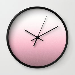 Pink and white marshmallows Wall Clock
