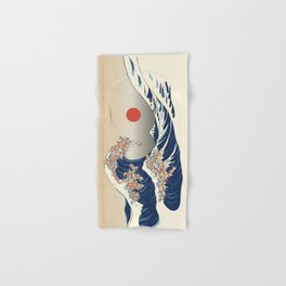 The Great Wave of Chihuahua Hand & Bath Towel