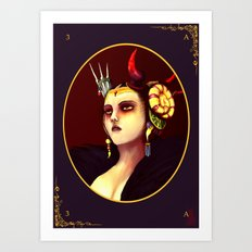 Final Fantasy VIII  - Edea Art Print