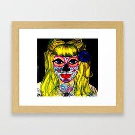 JAP SAM GOT NOSE BLING Framed Art Print