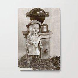 Coffee man 5 Metal Print