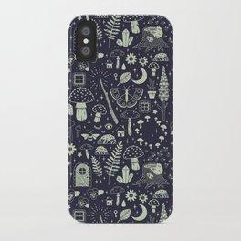 Fairy Garden: Midnight iPhone Case