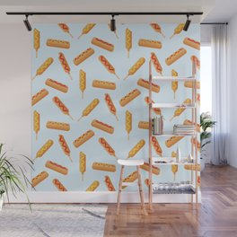 Who Doesn't Love Corn Dogs? Wall Mural