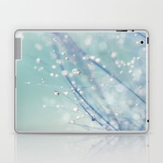Dreamy Feather Drops Laptop & iPad Skin