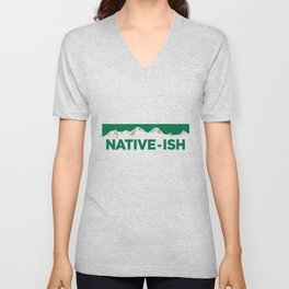 Native-ish Unisex V-Neck