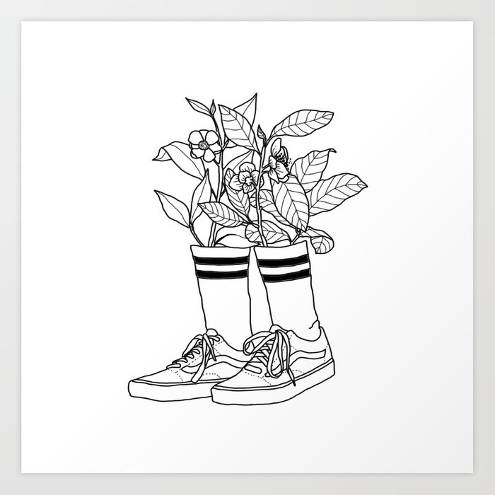 Where have all the flowers gone? Art Print