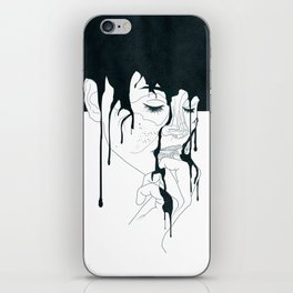 Quiet and Content iPhone Skin