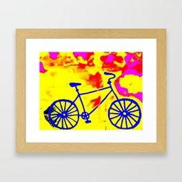 Retro bike 2  Framed Art Print
