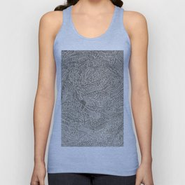 Lines: What Do You See? Unisex Tank Top