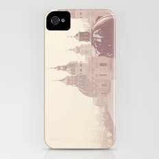 beneath her snow covered domes ... iPhone (4, 4s) Slim Case