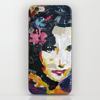 jenny liz rome iPhone & iPod Skins featuring Liz by Phil Fung