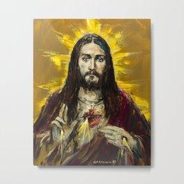 Cor Jesu Sacratissimum Metal Print