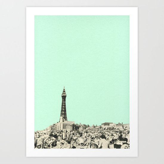 Blackpool Art Print