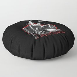 Tesla: God of Thunder Floor Pillow