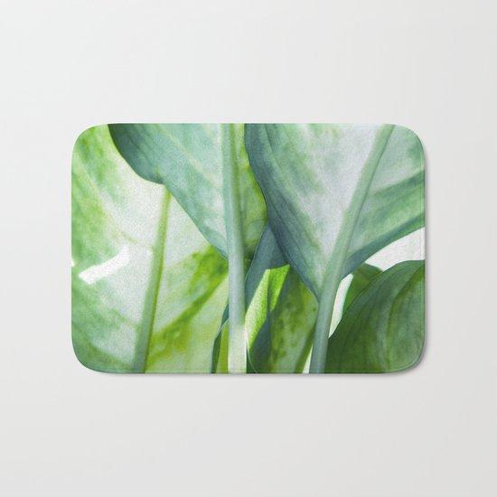 tropic abstract Bath Mat