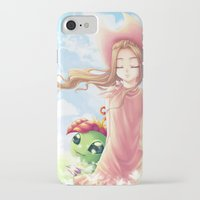 digimon iPhone & iPod Cases featuring Digimon Dream Mimi by valsharea