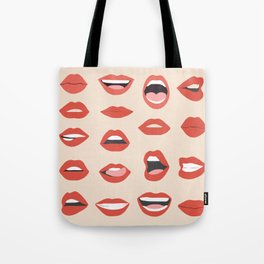 Lips III Tote Bag