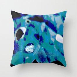 Solarized Kale Throw Pillow