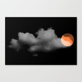 weather so changeable Canvas Print