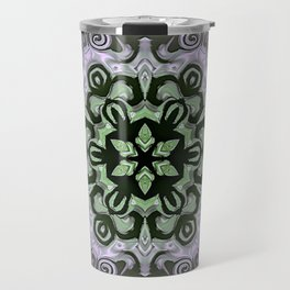 Sequential Baseline Mandala 12f Travel Mug