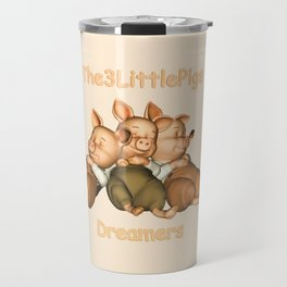 The 3 Little Pigs Dreamers Travel Mug