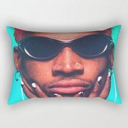 Dennis Rodman Rectangular Pillow