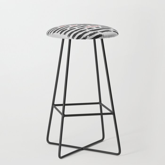 We are our silence Bar Stool