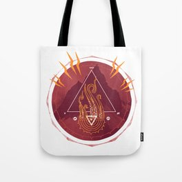 Mountain of Madness Tote Bag