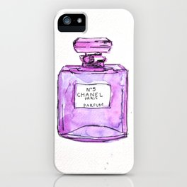perfume purple iPhone Case