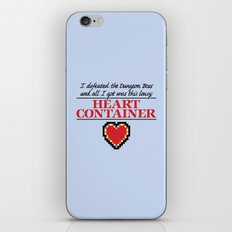 Lousy Heart Container iPhone & iPod Skin