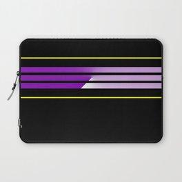 Team Colors 5...Purple,yellow Laptop Sleeve