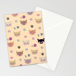 I Sure Do Like Kitties Stationery Cards