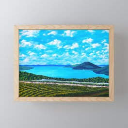 Canandaigua Lake Framed Mini Art Print