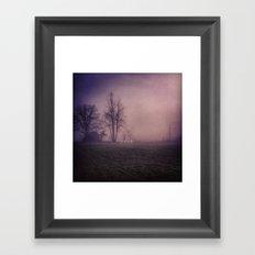 Saddle Lake, PA Framed Art Print