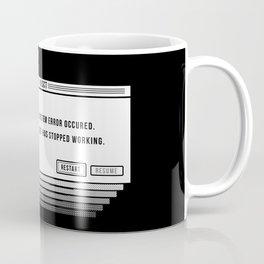Brain.exe error Coffee Mug