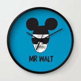 Mr. Walt Wall Clock