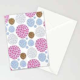 Stone Age Print- pink Stationery Cards