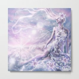 Sparkling Dream Queen Metal Print