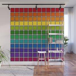 Rainbow Chex Wall Mural