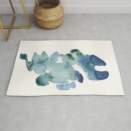 18   | 190816 | Surrender | Abstract Watercolour Painting Rug