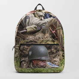 Time out. Backpack