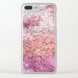Paint Mines Clear iPhone Case