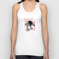 ed sheeran Tank Tops featuring ed 209 by Buby87